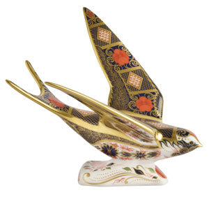 Royal Crown Derby SGB Swallow