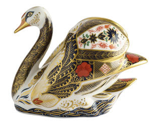 Royal Crown Derby SGB Swan