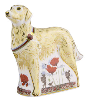 Royal Crown Derby War Dog - Limited Edition 500