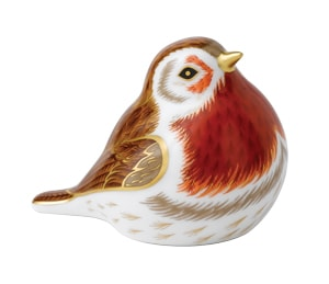Royal Crown Derby Paperweights Royal Robin (5.5cm)