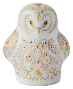 Royal Crown Derby Paperweights Owlet (6cm) - LAST FEW AVAILABLE!