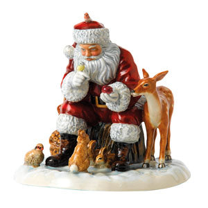Royal Doulton Christmas 2017 Woodland Christmas - SOLD OUT