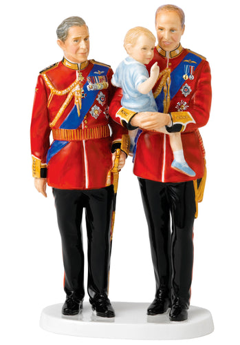 Royal Doulton 70th Wedding Anniversary Future Kings (22cm) - LAST FEW AVAILABLE