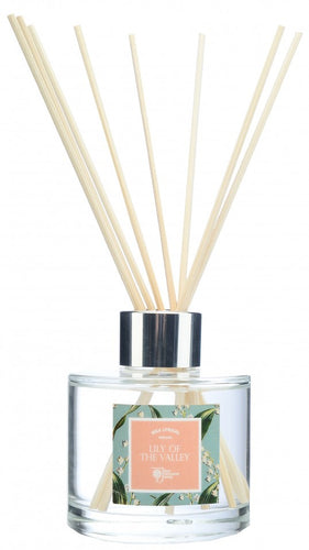 Wax Lyrical RHS Fragrant Garden 100ml Reed Diffuser Lily of the Valley (6 x 5 x 20cm)