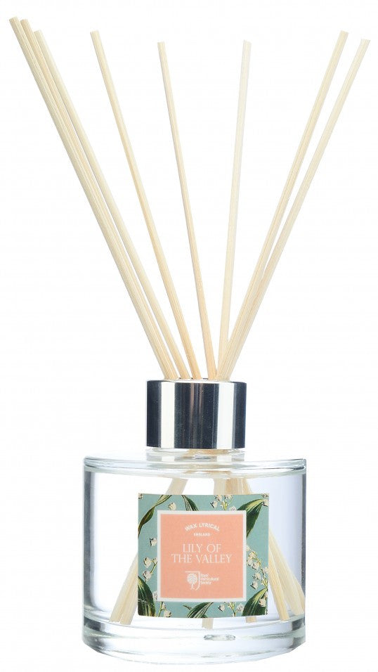 Wax Lyrical RHS Fragrant Garden 100ml Reed Diffuser Lily of the Valley - LAST FEW AVAILABLE!
