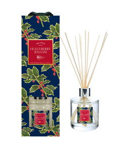 Wax Lyrical RHS Fragrant Garden 200ml Reed Diffuser Hollyberry - LAST FEW AVAILABLE!