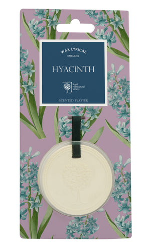 Wax Lyrical RHS Fragrant Garden Scented Plaque Hyacinth (9.3 x 1 x 19cm)