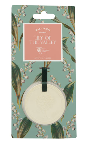 Wax Lyrical RHS Fragrant Garden Scented Plaque Lily of the Valley (9.3 x 1 x 19cm)