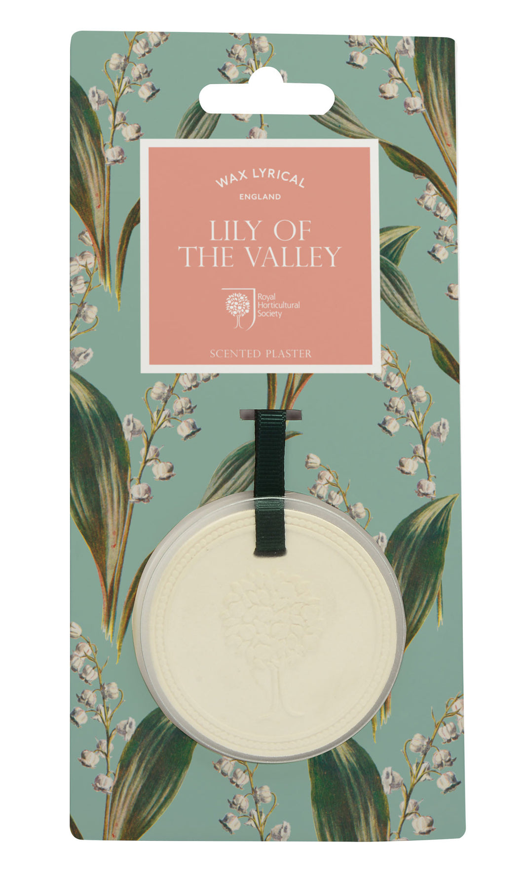 Wax Lyrical RHS Fragrant Garden Scented Plaque Lily of the Valley - LAST FEW AVAILABLE!
