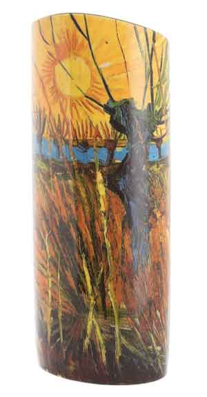 John Beswick Vases Van Gogh - Willows