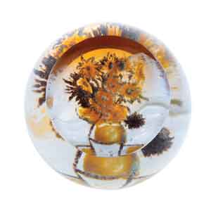 Caithness Glass Artistic Impressions Sunflowers