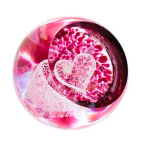 Caithness Glass Love Big Heart