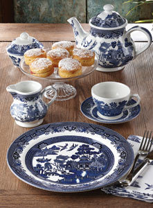 Churchill Blue Willow 20pc Set - LAST FEW AVAILABLE!