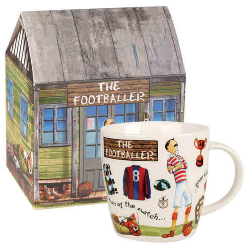 Churchill At Your Leisure The Footballer Mug (400ml)