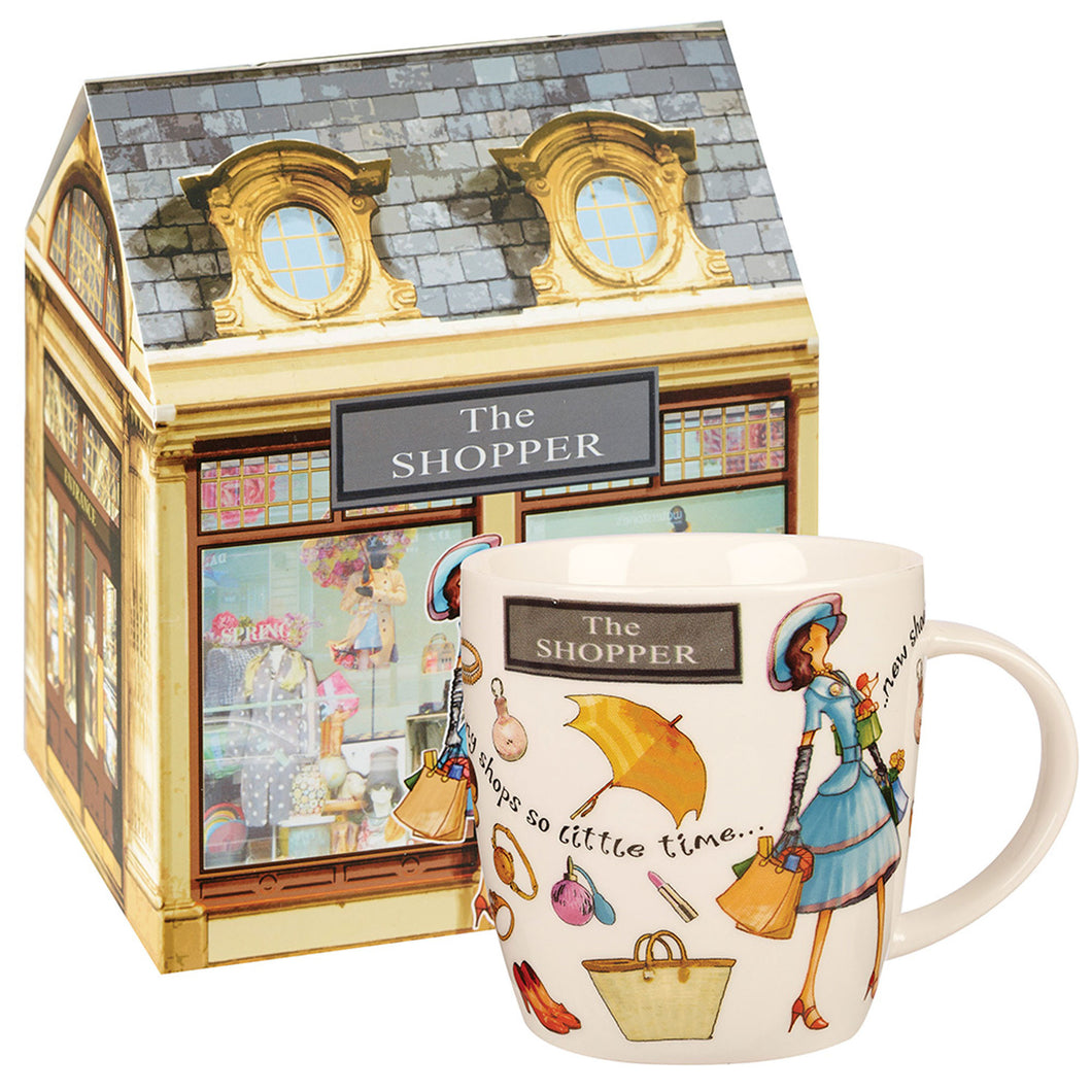 Churchill At Your Leisure The Shopper Mug (400ml)