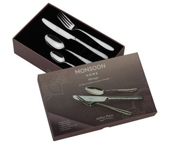 Cutlery Home Monsoon Mirage 24 Piece Set