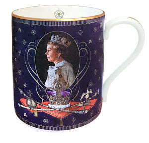 Halcyon Days 65th Anniversary of the Coronation - Mug