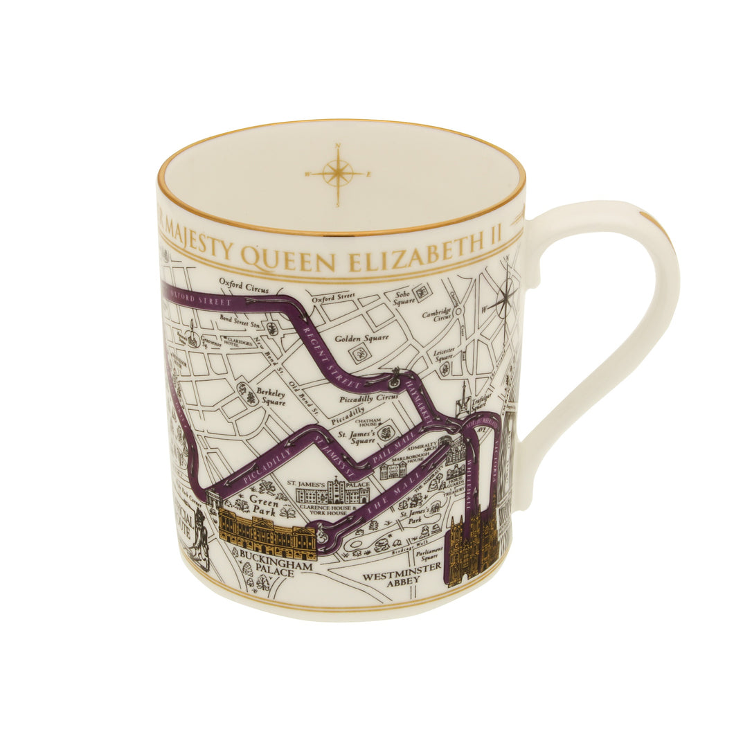 Halcyon Days Coronation Route - Mug