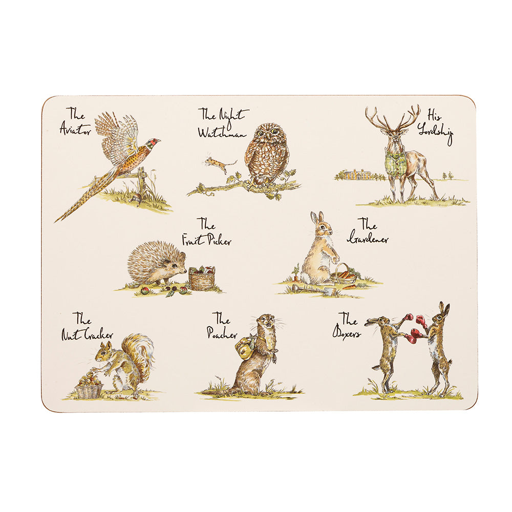 Churchill Placemats Set of 6