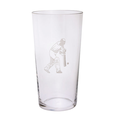 Dartington Sports & Occasions Cricket Pint Glass