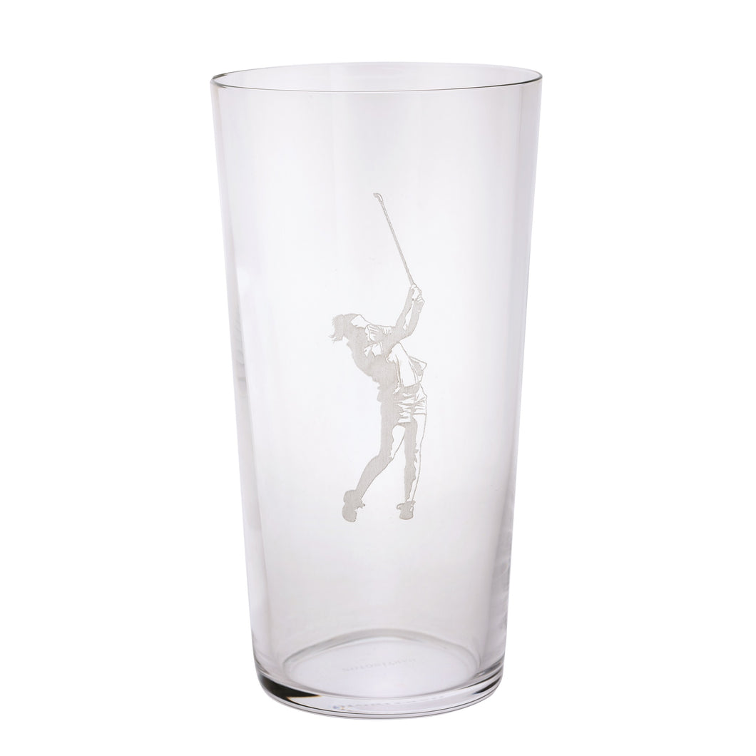 Dartington Sports & Occasions Golfer Pint Glass