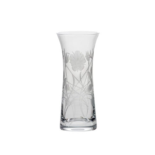 Royal Scot Crystal Lily Vase