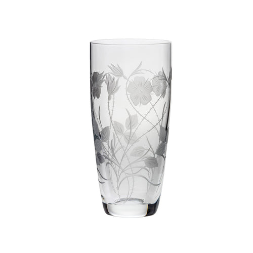 Royal Scot Crystal Tall Vase