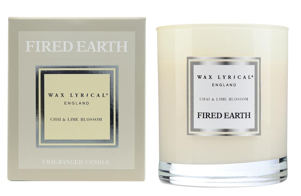 Wax Lyrical WAX FILL Fragranced Candle CHAI & LIME BLOSSOM