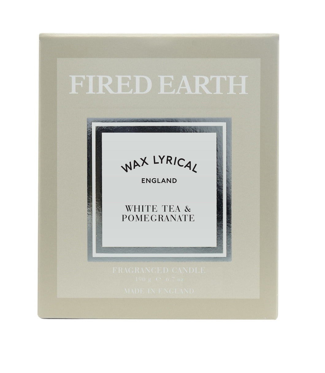 Wax Lyrical WAX FILL Fragranced Candle WHITE TEA & POMERGRANATE