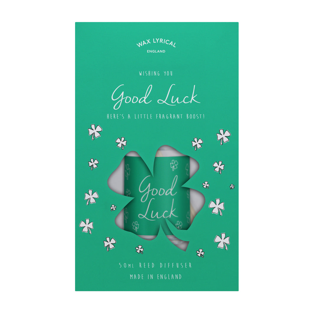 Wax Lyrical 50ml Reed Diffuser GOOD LUCK