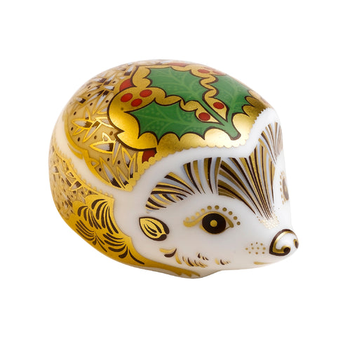 Royal Crown Derby Hedgehog Holly - LAST FEW AVAILABLE!