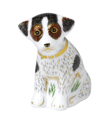 Royal Crown Derby Bertie Sitting Puppy