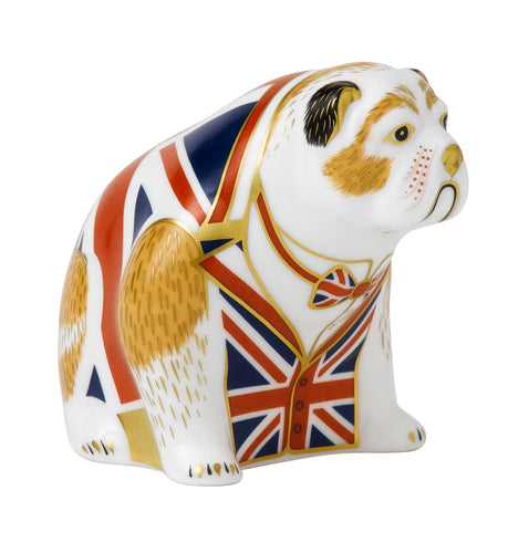 Royal Crown Derby Bulldog -Union Jack