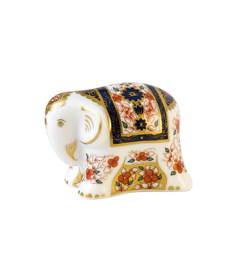 Royal Crown Derby Infant Imari Elephant