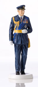 Royal Doulton Prince Charles 70th 25cm
