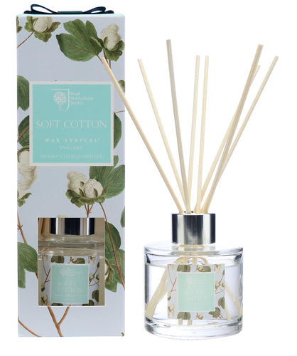 Wax Lyrical 100ml Reed Diffuser SOFT COTTON