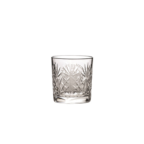 Royal Scot Crystal Whisky Tumbler Hand Cut Kintyre - LAST FEW AVAILABLE!