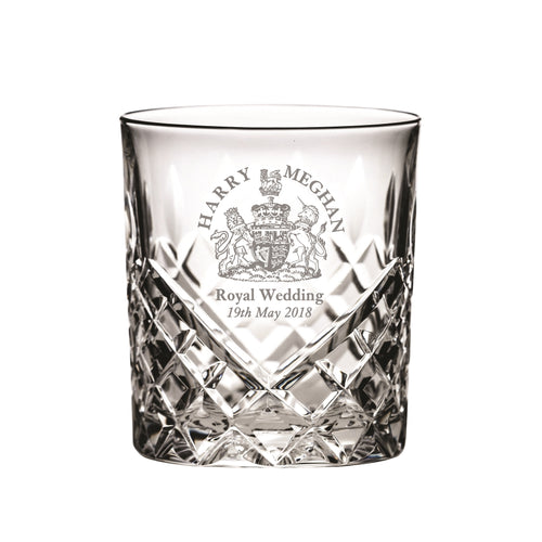 Royal Scot Crystal Large Tumbler Hand Cut Windsor - LAST FEW AVAILABLE!