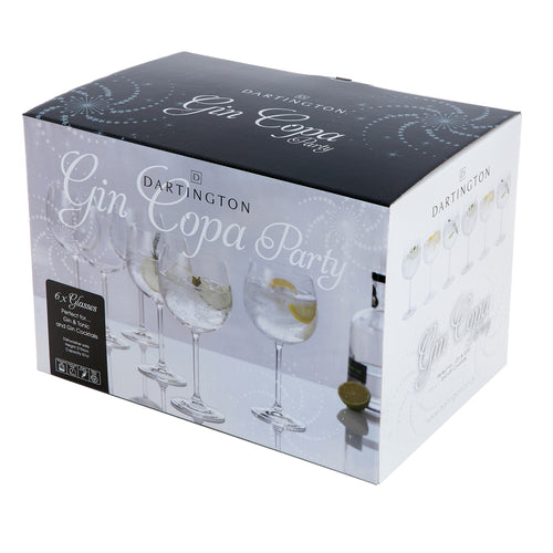 Dartington Party Set of Six Gin Copa