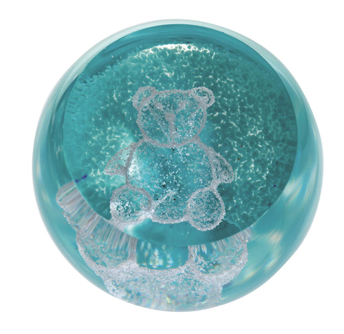 Caithness Glass Special Moments Teddy Green