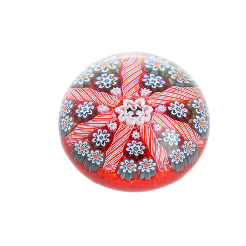Caithness Glass Millefiori Stardust Red