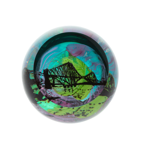 Caithness Glass Scottish Landmarks Northern Aurora Forth Bridge