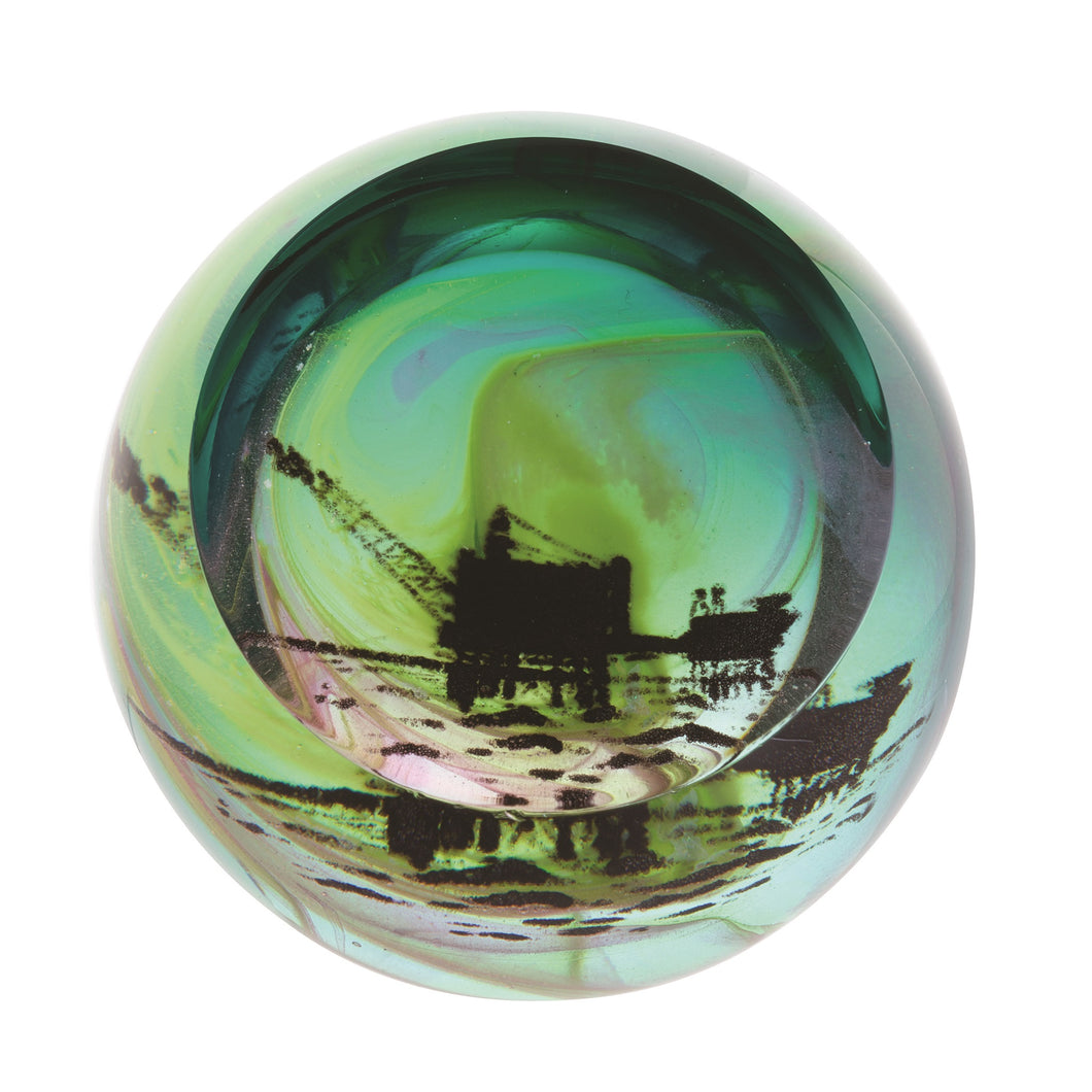 Caithness Glass Scottish Landmarks Northern Aurora Oil Rig
