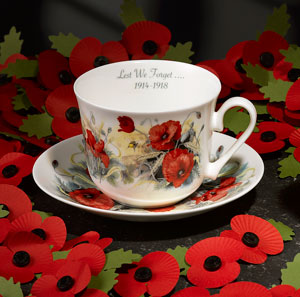Roy Kirkham Chatsworth Breakfast Cup & Saucer - LAST FEW AVAILABLE!