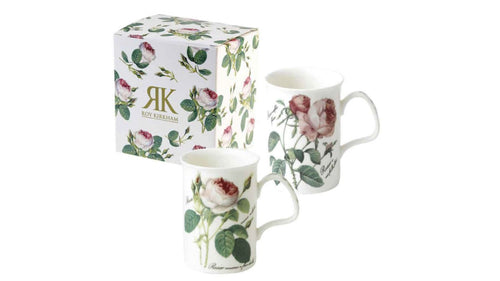 Roy Kirkham Redoute Rose Lancaster Mug (two random designs available)