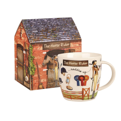 Churchill The Horse Rider Mug