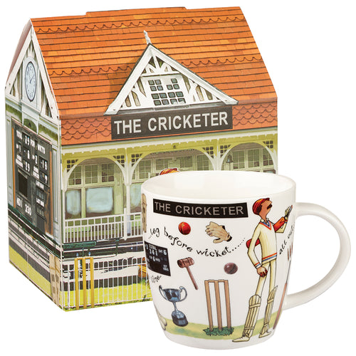 Churchill The Cricketer Mug