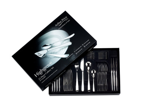 Arthur Price Highgrove 32pc 8 Person Cutlery Set