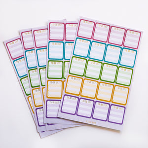 Write-On To-Do Planner Stickers