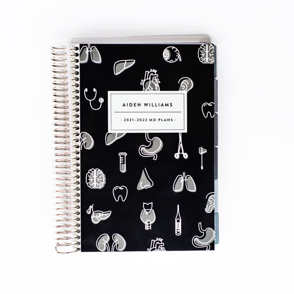 Medical / Nursing Planner - ORGANS DARK NAVY